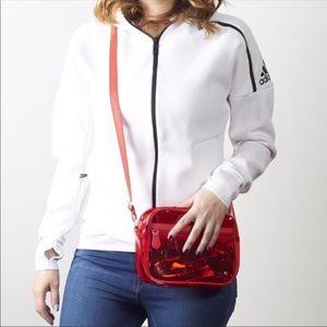 Stephanie Johnson Red Clear Camera Bag